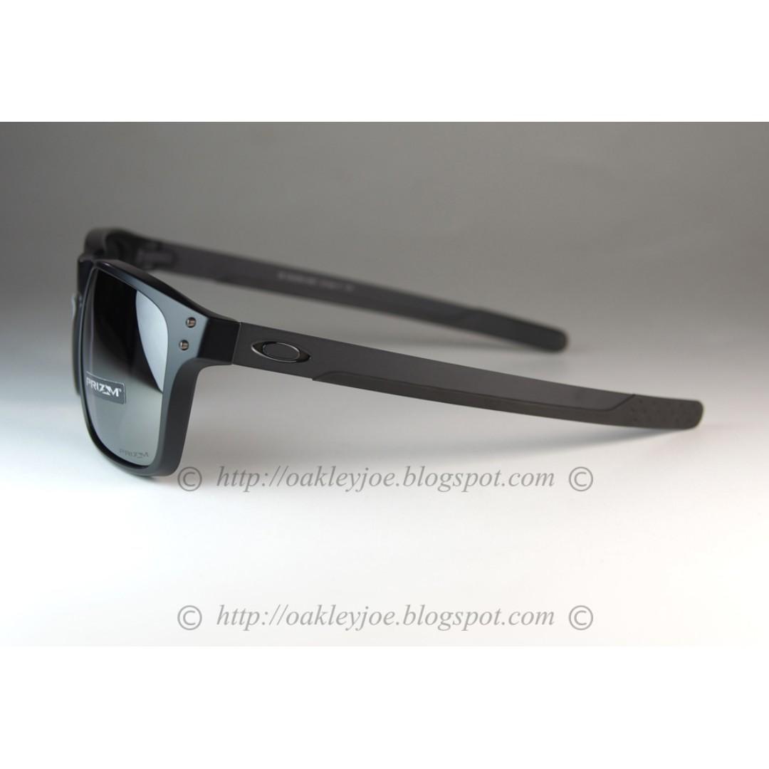 25bd19faf41 BNIB Oakley Holbrook Mix Asian Fit matte black + black iridium polarized  OO9385-0657 sunglass shades