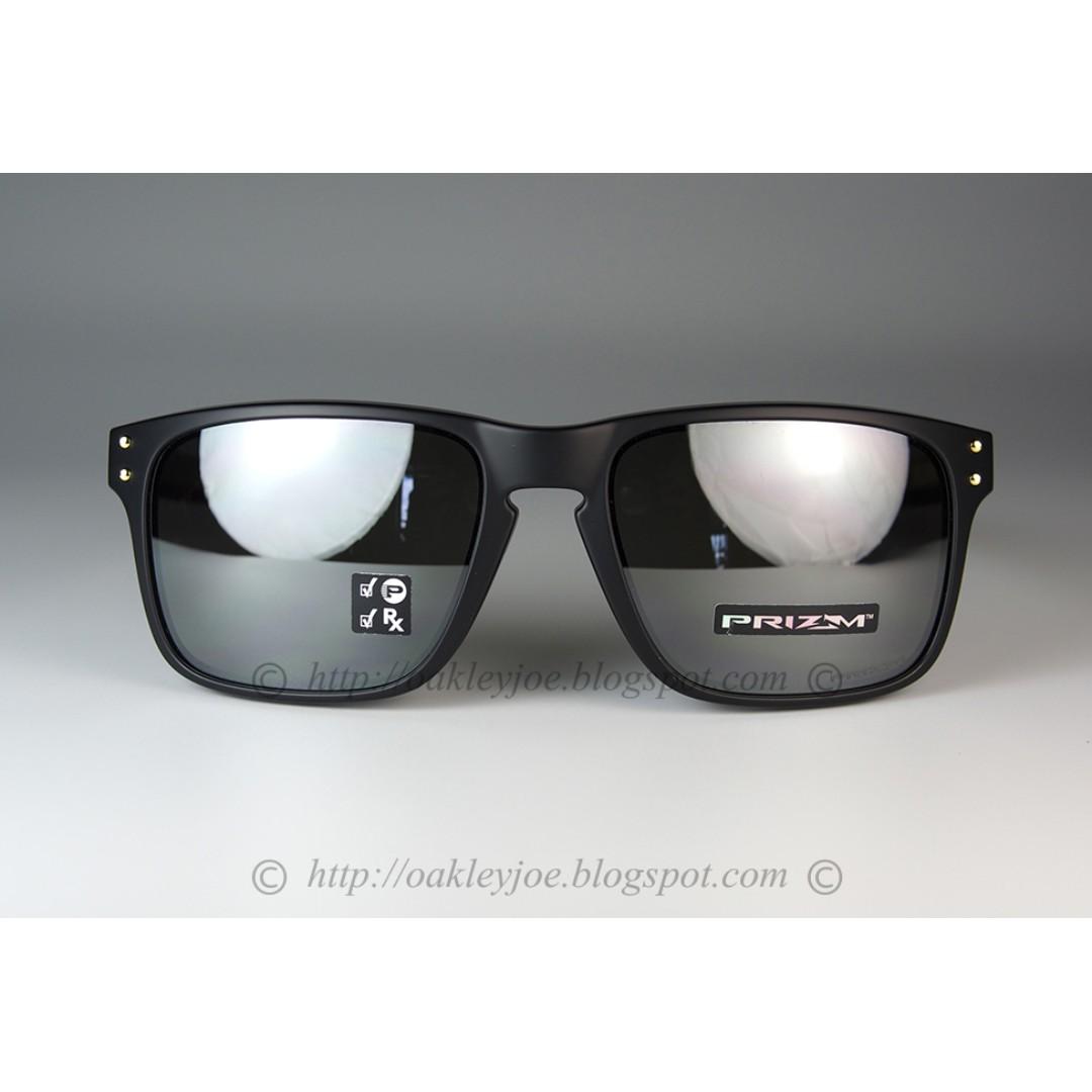 3f00d67e651 BNIB Oakley Holbrook Mix Asian Fit matte black gold + prizm black ...