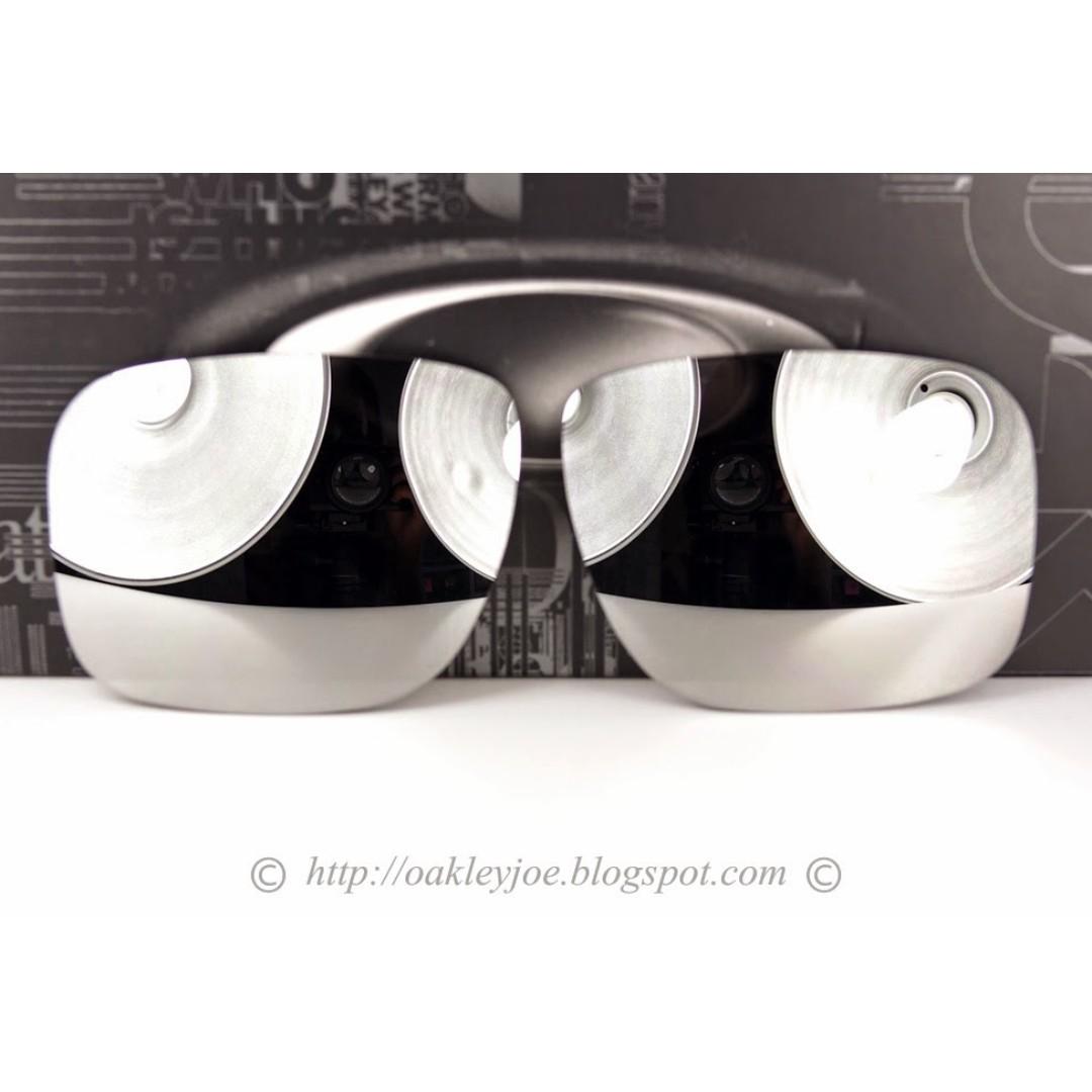 03f16d4dcb477 BNIB Oakley Holbrook Replacement Lens Kit chrome iridium 43-345 ...