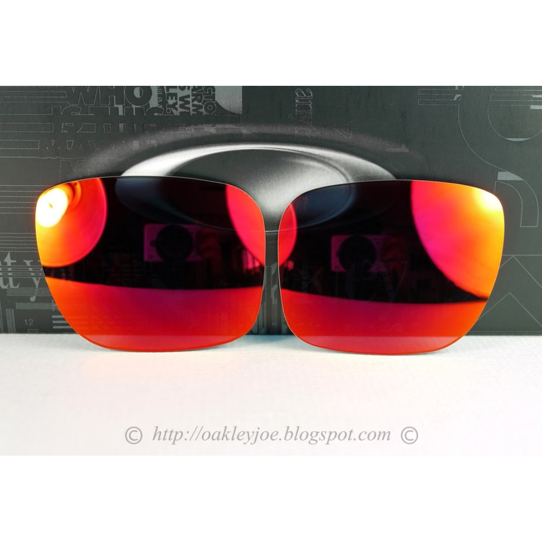 829763553ce0d BNIB Oakley Holbrook Replacement Lens Kit ruby iridium 43-347