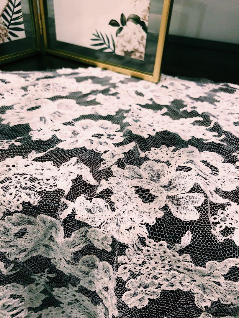 Brand new royal fabrics French lace