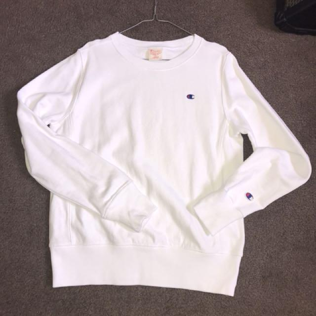 Champion Sweater White