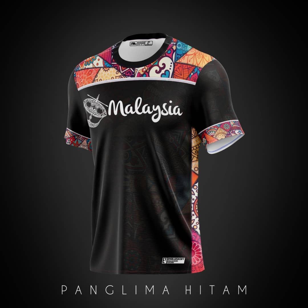 Clearance Stock!! T Shirt Malaysia Batik