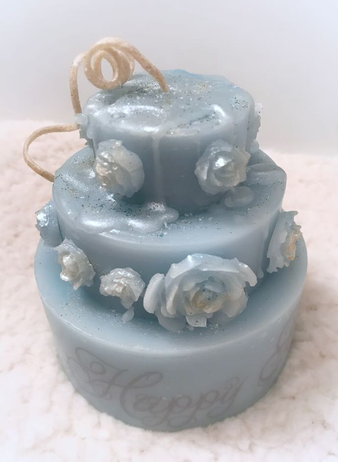 Custom Occasion Scented Cake Candles Furniture Home Decor Others
