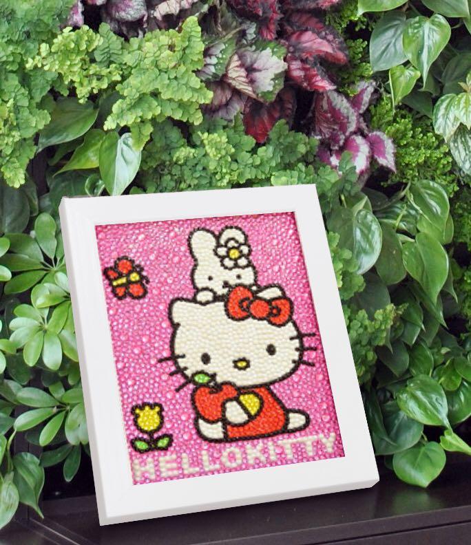 5a2a079f3 DIY diamond Hello Kitty frame for kids, Babies & Kids, Toys ...