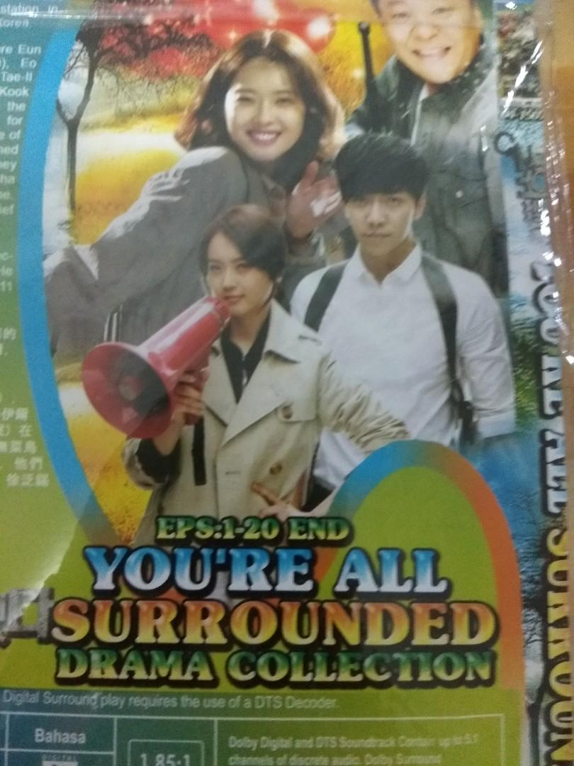 Dvd drama korea you're all surrounded full 1-20 sub indo, K-Wave on