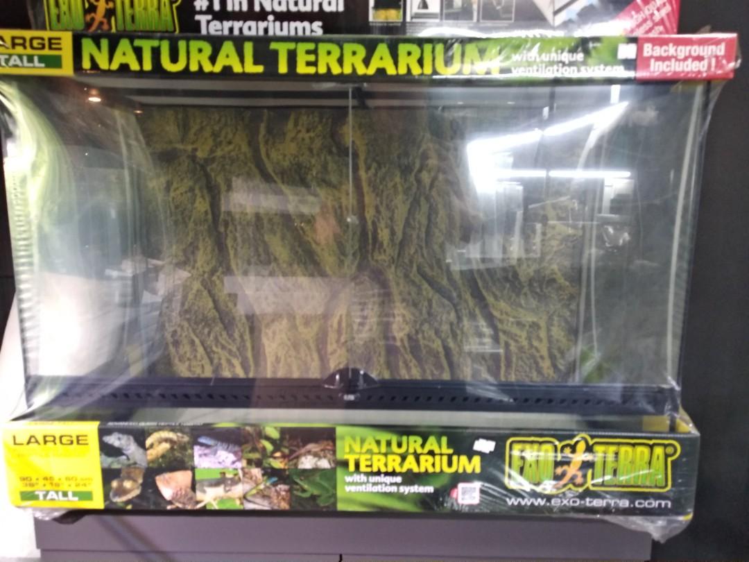 Exo Terra Large Tall 90x45x60cm Pet Supplies For Fish Fish Tanks