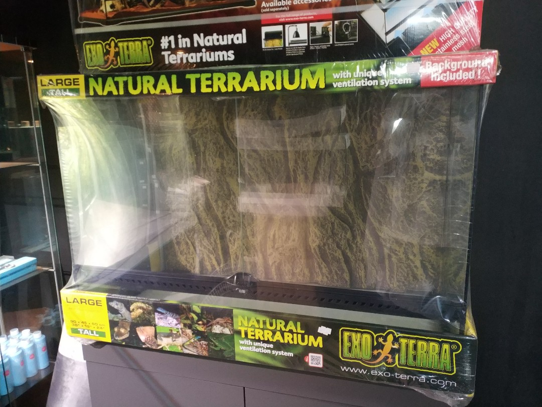 Exo Terra Large Tall Terrarium Pet Supplies For Small Animals