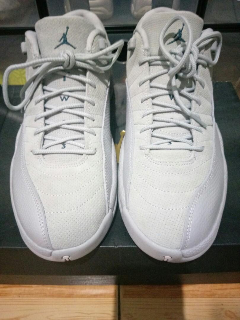 2796165d0bbd For Sale Air Jordan 12 Retro Low Wolf Grey Size 9.5 US