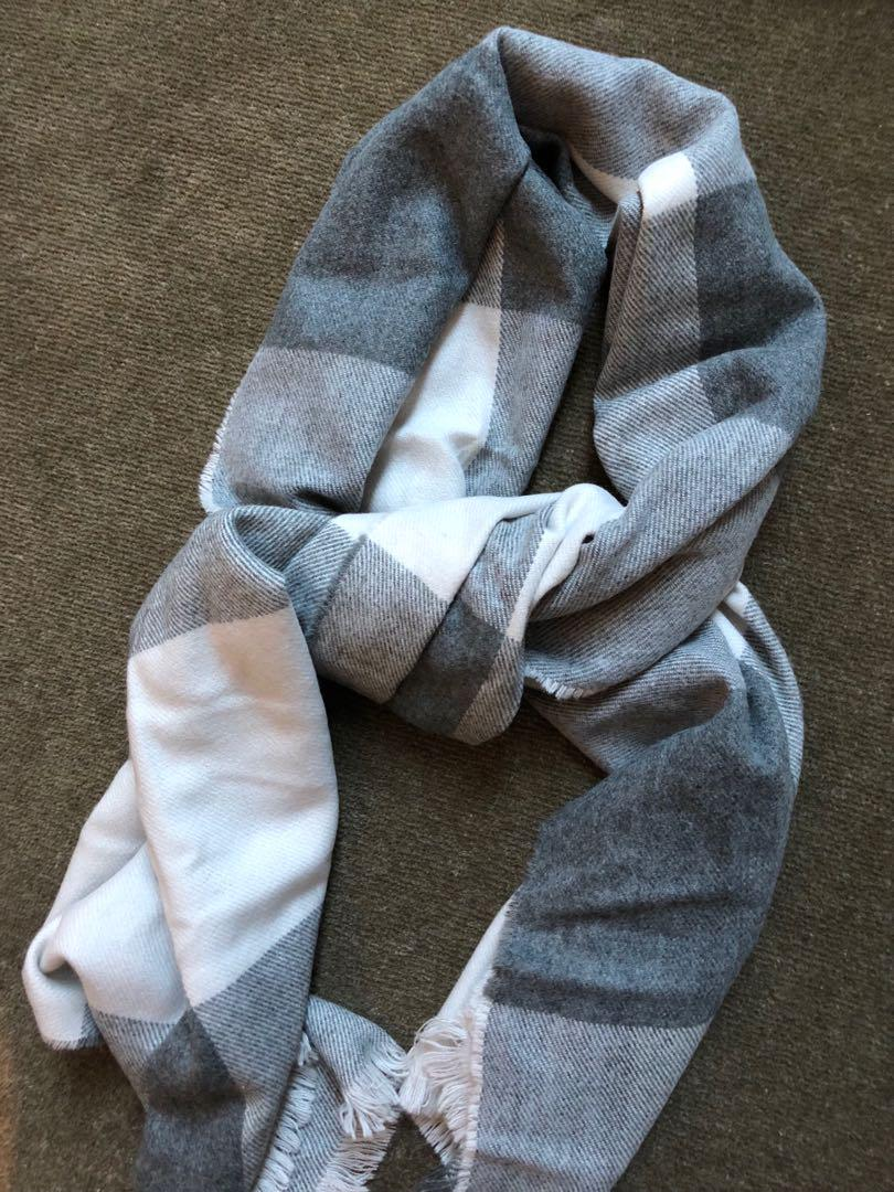 Forever New Check Scarf