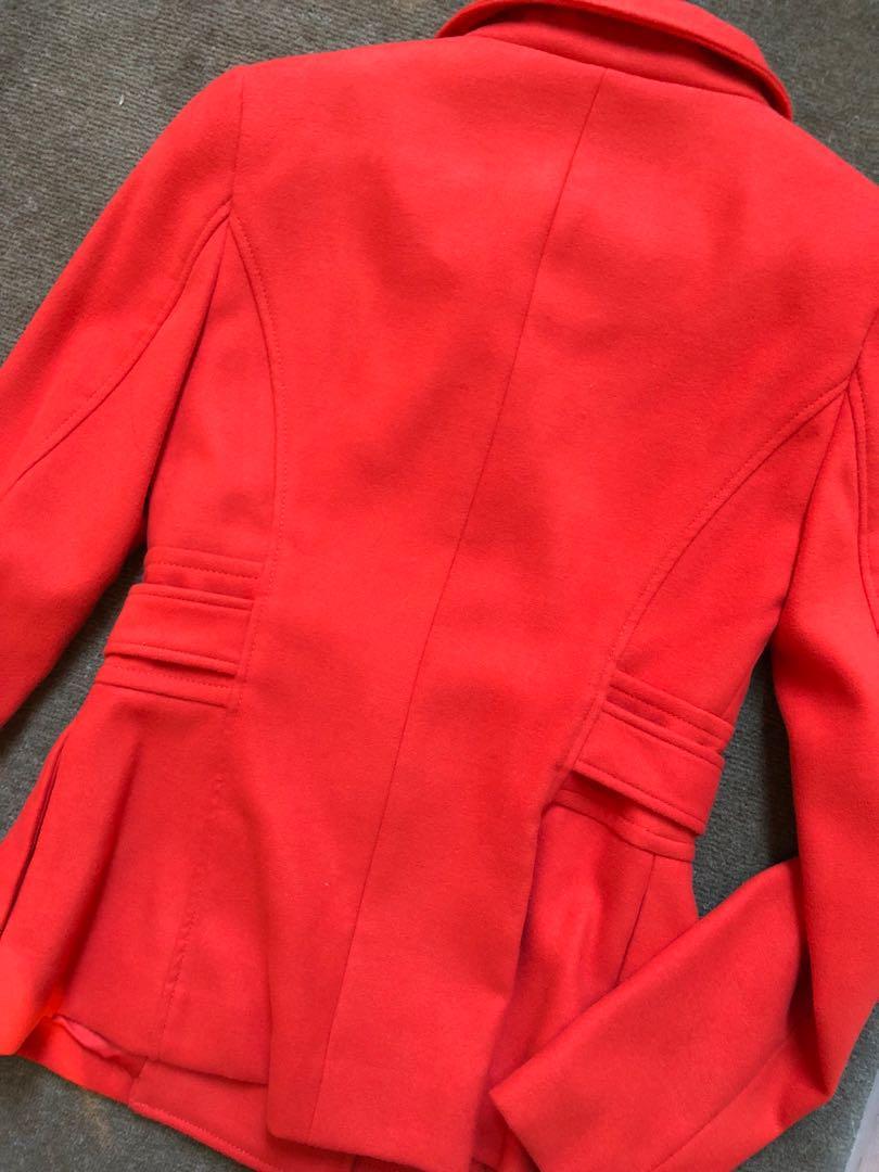 Forever new red orange jacket