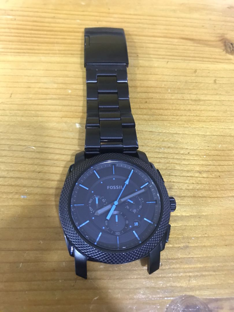 Fossil Machine Watch Mens Fashion Watches On Carousell Jr1510 Original