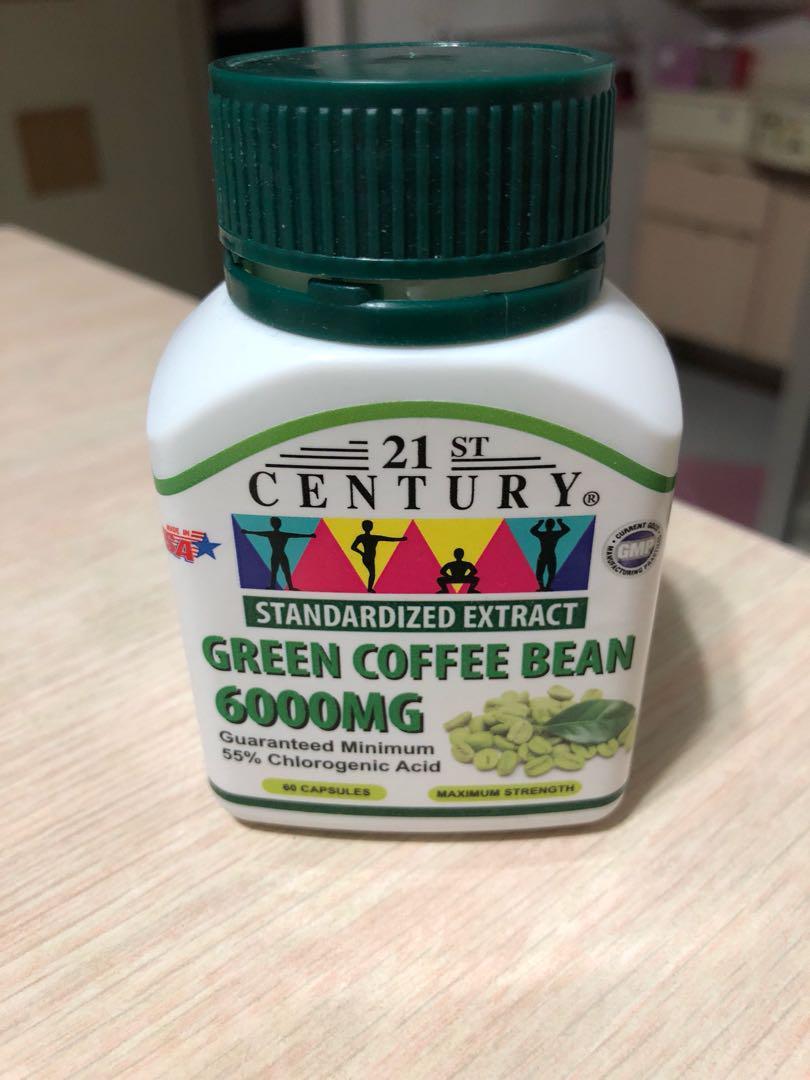 Guaranteed Weight Loss Green Coffee Bean 6000mg Health Beauty