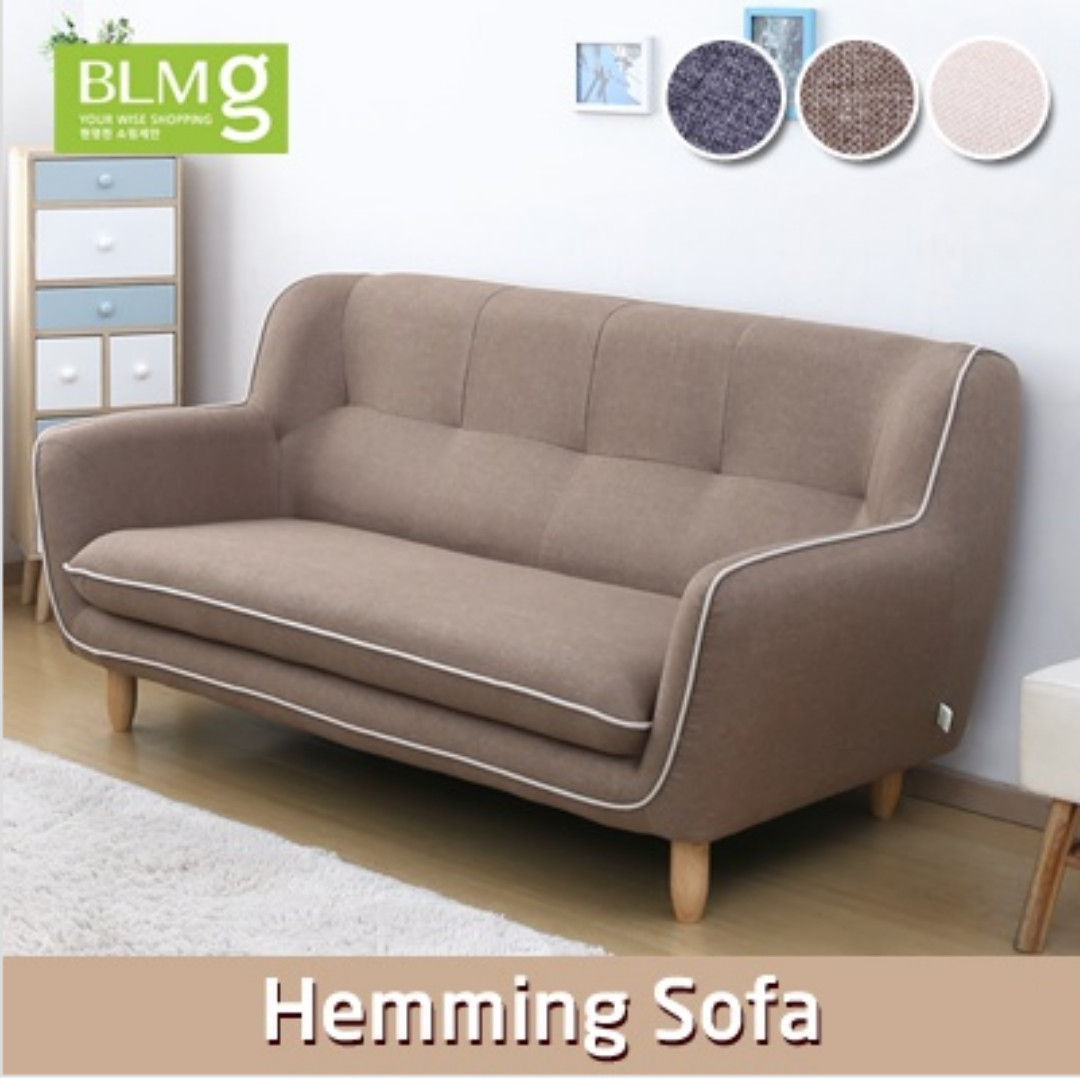 Hemming Sofa Couch Fabric Bed Furniture Living Room Sofa