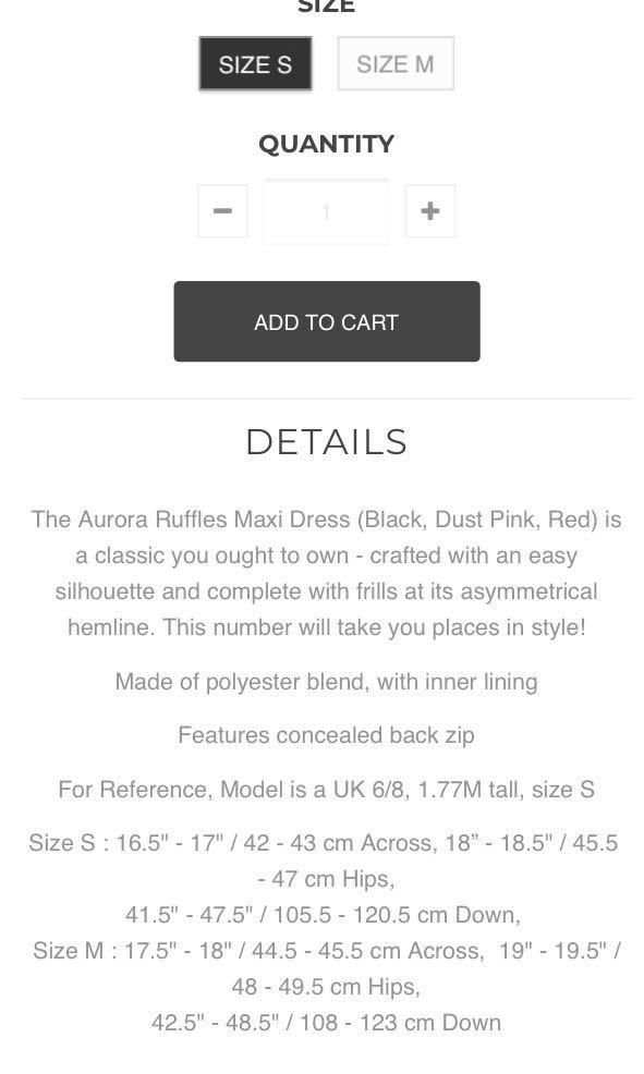 e473187222 Hollyhoque Aurora Ruffles Maxi Dress