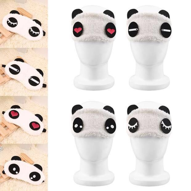 5c60577ee83 Instock BN 15 Designs Panda Sleeping Eye Mask Travel Relax Sleep Ice ...