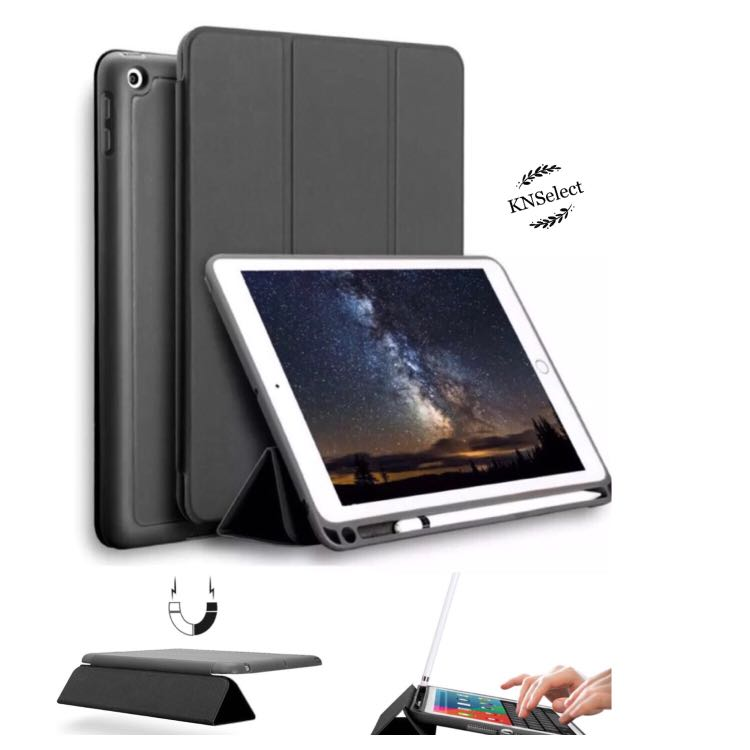 new concept 5fd5e 6bb1f iPad Pro 10.5 Smart TPU Case with Apple Pencil Holder