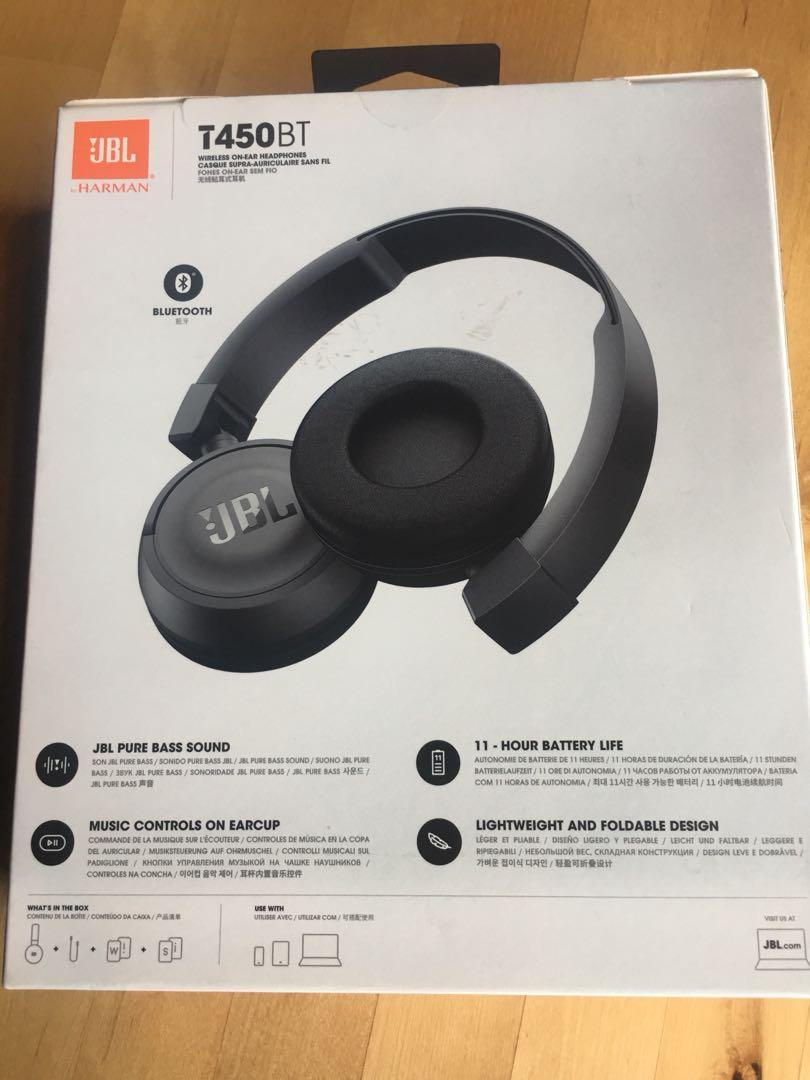 Jbl T450bt Electronics Audio On Carousell Headphone White