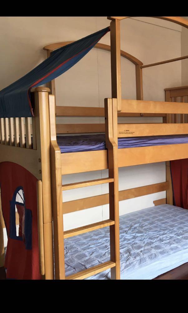 Kids Castle Bunk Bed For Sales Furniture Beds Mattresses On