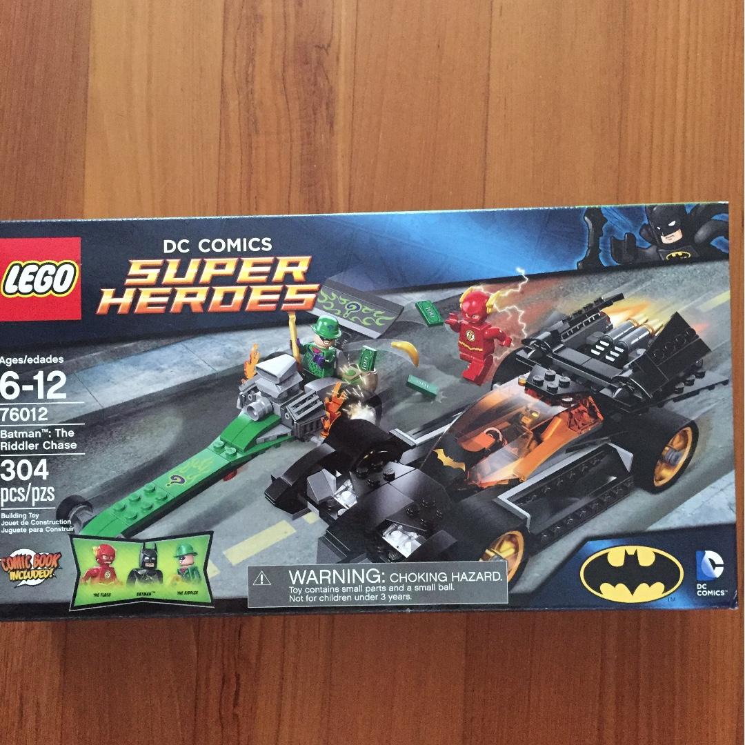 76012 Heroes Super The Batman ChaseToysamp; Riddler Games Lego 8PXZNOnw0k