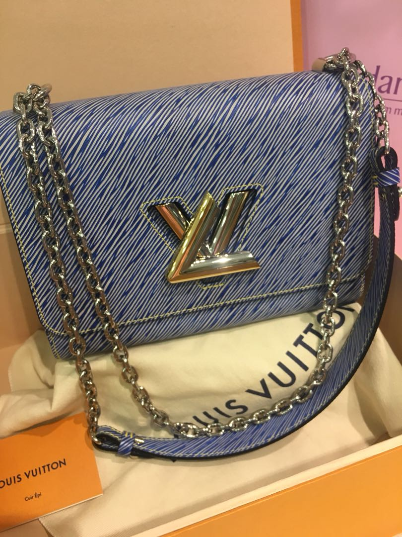 d688e64d4e6d Louis Vuitton Twist MM Epi Denim Bag