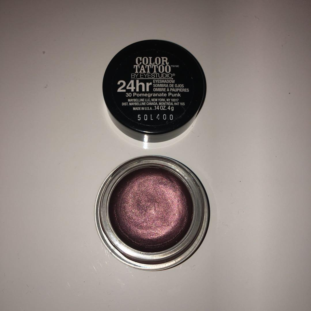 Maybelline Colour Tattoo Eyeshadows