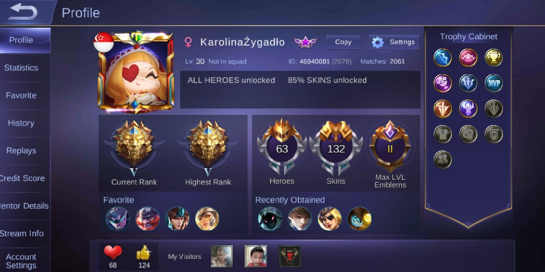 Mobile legends id for android, Toys u0026 Games, Video Gaming