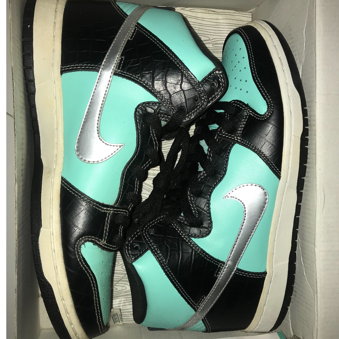 "5a90fb8f27e Nike Dunk High Diamond Supply Co. ""Tiffany"""