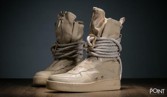 low priced 8caf3 928f4 Nike SF Air Force Hi Boot Rattan, Women s Fashion, Shoes, Sneakers ...