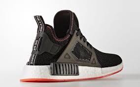 newest 80939 68473 NMD R1 CORE BLACK SOLAR RED US 8.5
