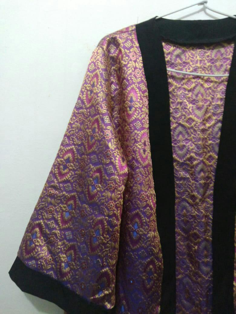 Outer bat wing purple all size (never been used)