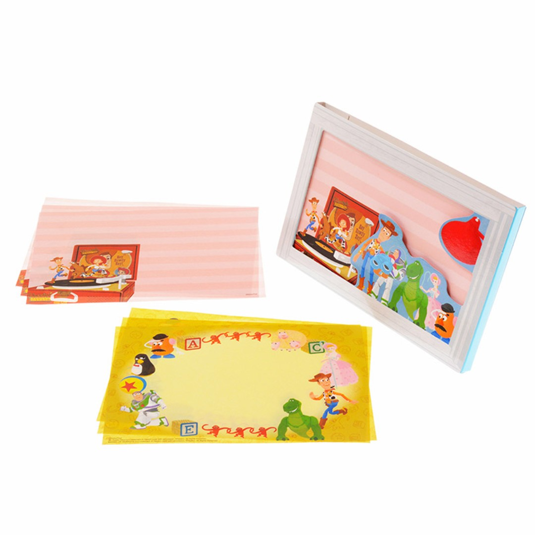 PO] Disney Japan Toy Story Memo Pad Frame, Bulletin Board, Preorders ...