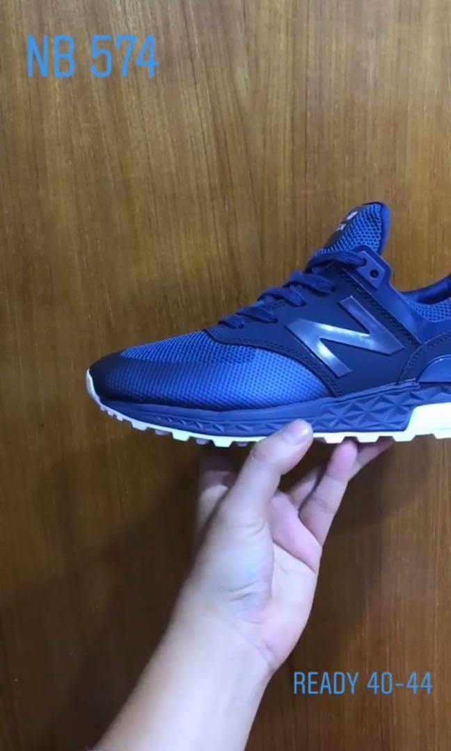 PREMIUM QUALITY New Balance 574 Sport Blue White 32c6c6a106