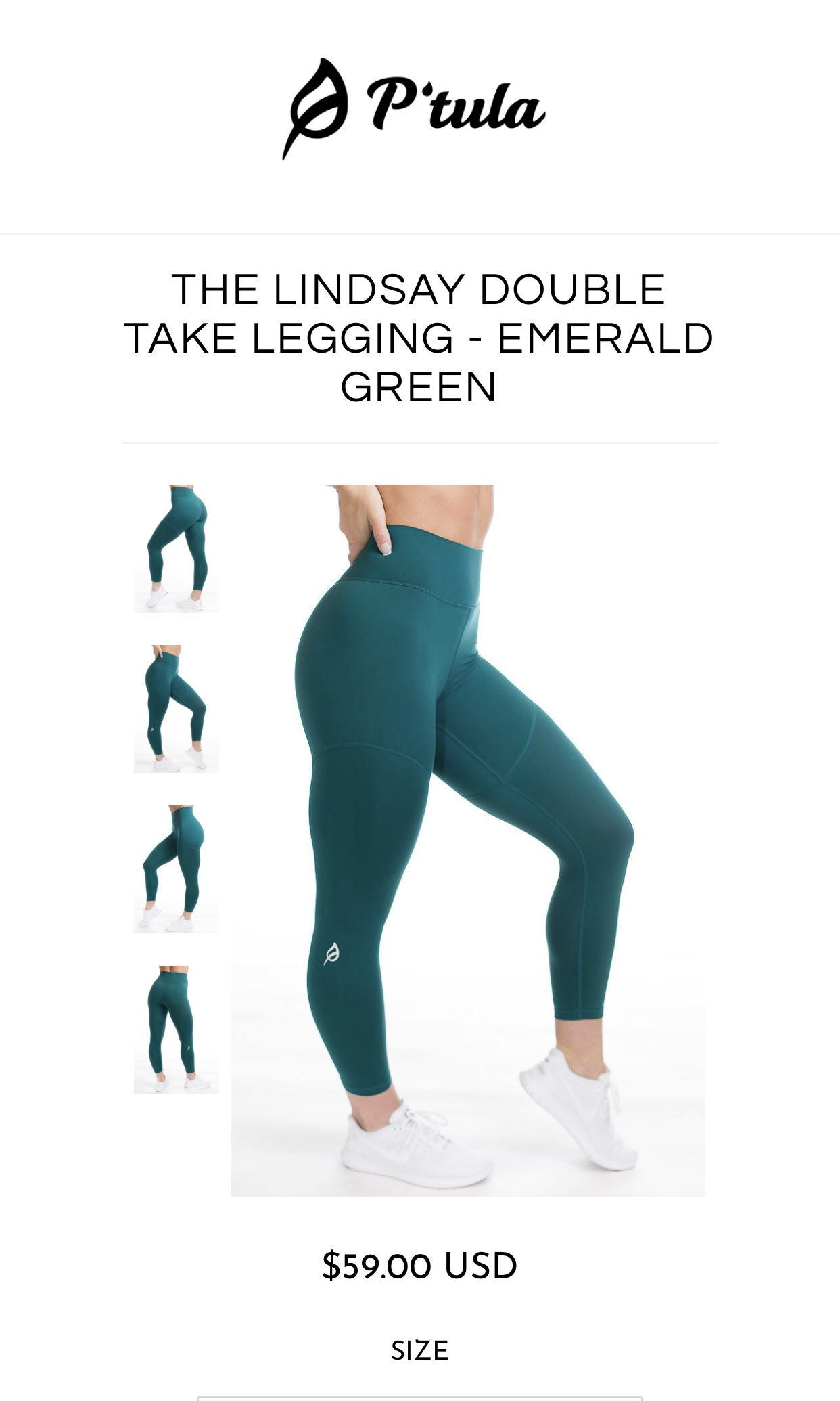 Ptula Lindsay Green Leggings Sports Sports Apparel On Carousell Please fill out our form to start your return/exchange process. carousell