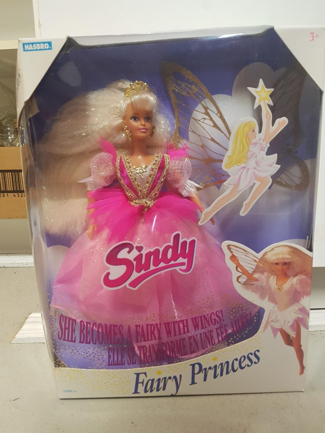 Rare collectable Sindy fairy princess doll. Never been opened