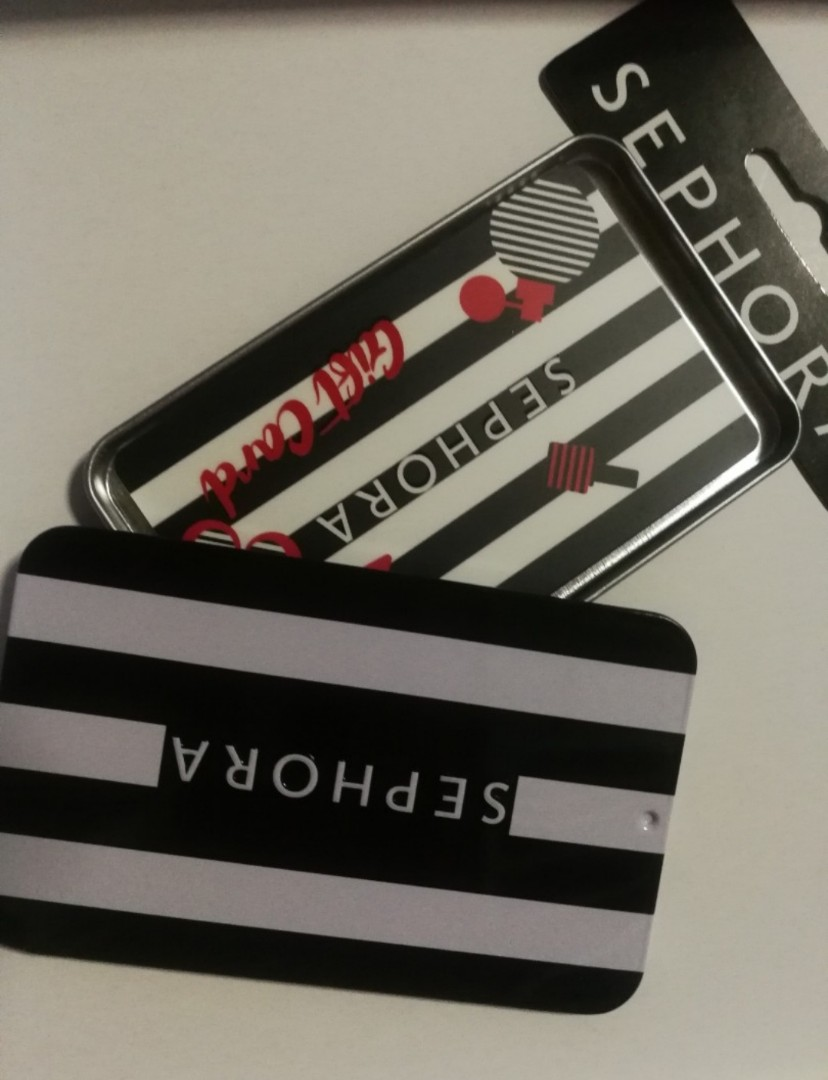 Sephora 100 Gift Card Health Beauty Makeup On Carousell