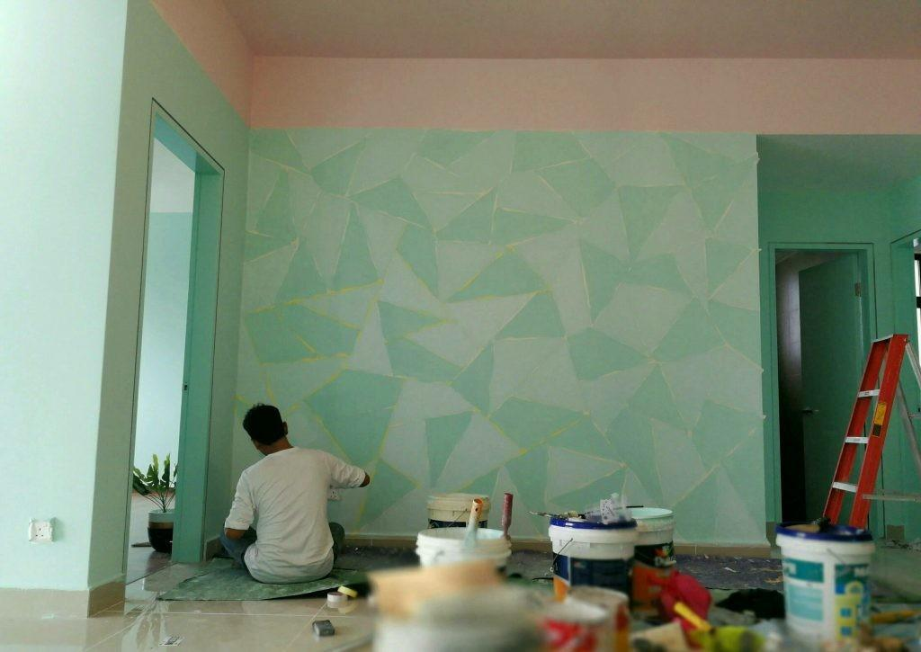 Servis Mengecat Rumah Pejabat Home Furniture Home Decor On Carousell