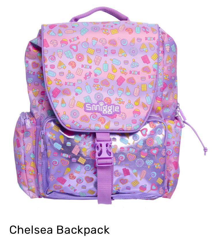 aae56204cd6 Smiggle Chelsea Backpack, Babies   Kids, Others on Carousell