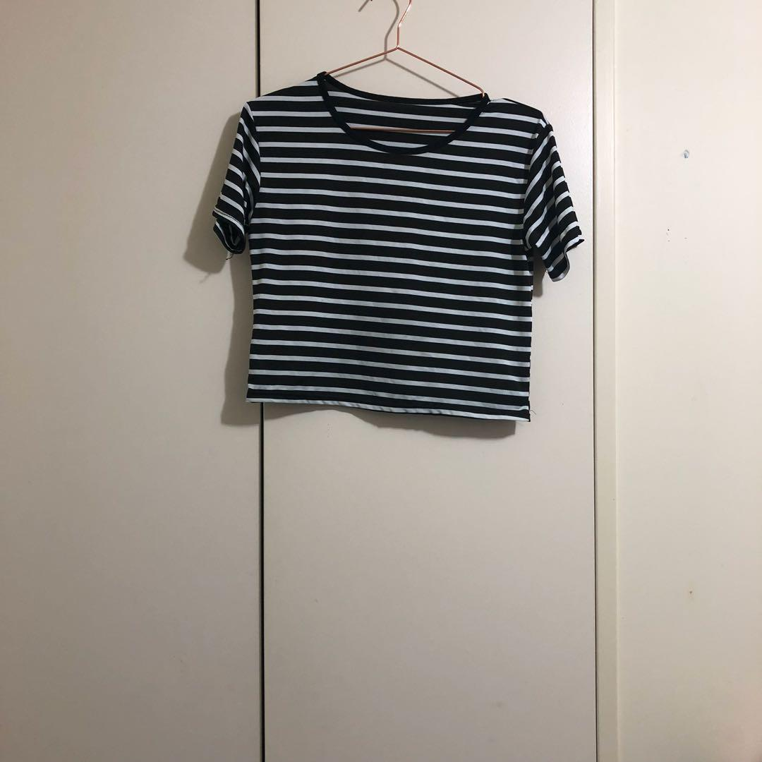 Striped crop 10 12