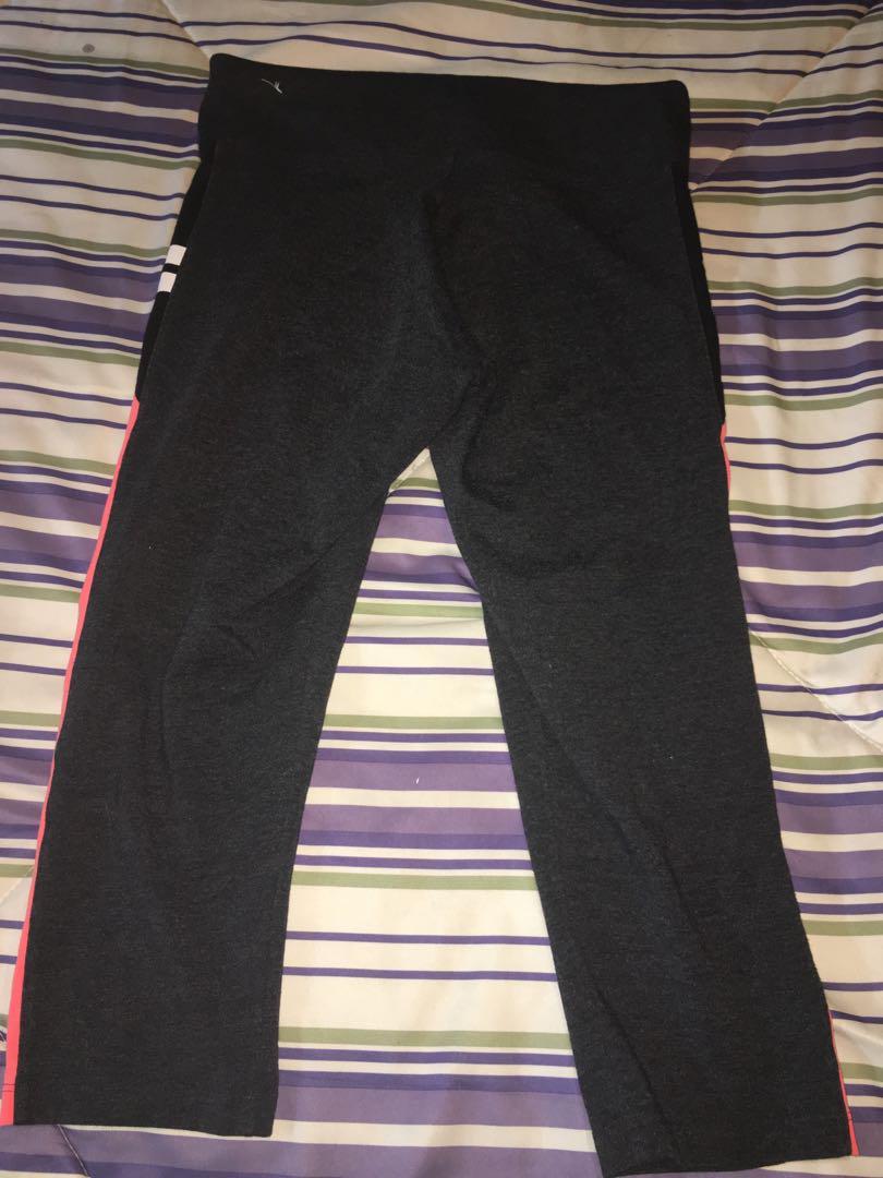 Victoria Secret Grey Fitness Capri Pants