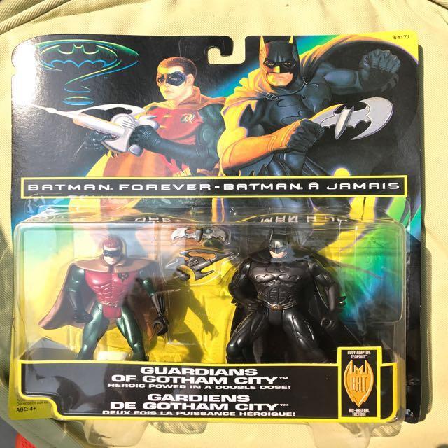 Vintage Kenner Batman Forever Batman and Robin