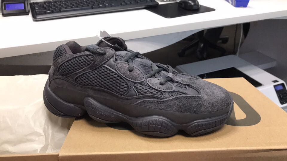 the latest 98048 6699f Yeezy 500 Utility Black UK7