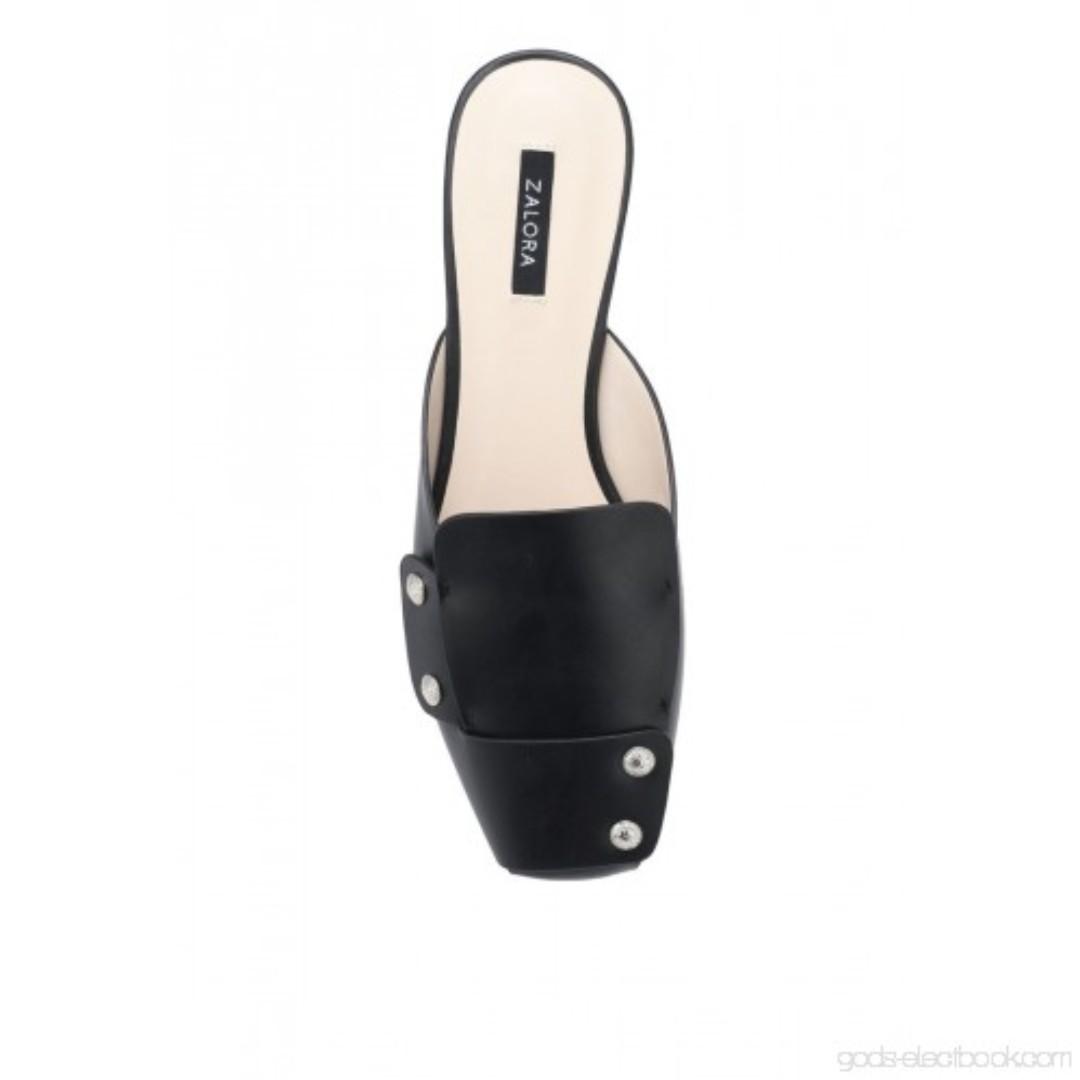 db41f59eb Zalora Studded Mule Slides, Women's Fashion, Shoes, Flats & Sandals ...