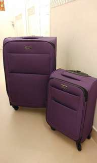 Antler Tourlite II Cabin Suitcase Purple