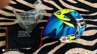 Helmet Kyt Double Visor Espargaro