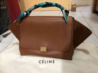 Celine Small Trapeze Bag11' x 8' inches (W x H)