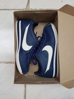 Sepatu Nike Cortez Leather Navy original