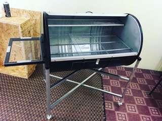 BBQ grill drum set