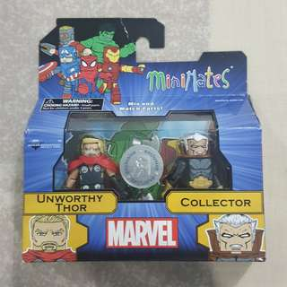 Legit Brand New With Box Minimates Marvel Unworthy Thor Collector Toy Figure Toys R Us Exclusive