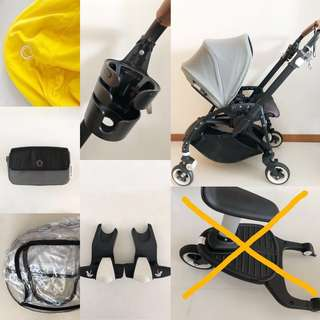 Bugaboo Bee 3 with accessories